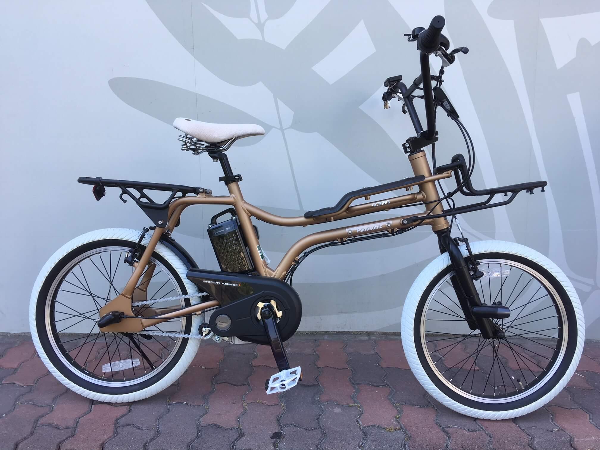 オトナがカッコいい自転車、EZ。