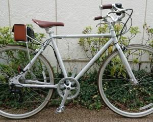 【おしゃれ電動自転車】デイトナ「DE02」カスタム ~レトロカスタム~