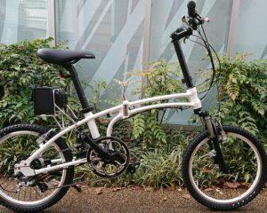 【おすすめ電動アシスト自転車】デイトナ 「DE01S」 ~ミニベロMTBカスタム~