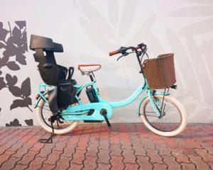 【子供乗せ電動自転車】YAMAHA PAS Babby un SP ~春 Spring~カスタム