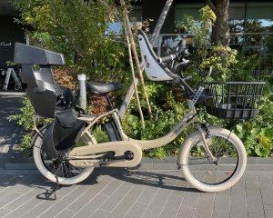 【カスタム電動アシスト自転車】幼児2人乗り対応車種 YAMAHA「Babby un」~明るい雰囲気にカスタムした1台~