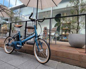 【BROOKS×電動アシスト自転車】Panasonic 「Jコンセプト」~ブルホーンハンドルカスタム~